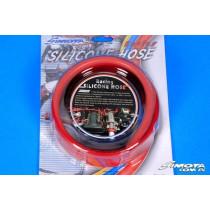 Univerzális silicone cső 5x10x212 cm Piros
